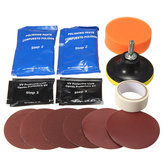 Faro lente Kit detergente per restauro Strumento di riparazione per detergente per lucidatura leggera in plastica
