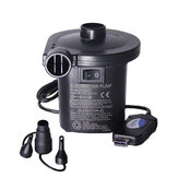 Electric USB Air Inflation Suction Pump Compressor Portable Ultra-quiet Rechargeable Inflator With 3 Nozzles Quick Filling For Boat Inflatable Bed Outdoor Home