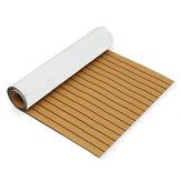 Oourode900mmx2400mmx5.5mmeo iate preto do barco de folha da teca do falso da espuma de EVA descascam o Decking sintético da teca
