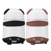 Dual Humidifier Air Oil Diffuser Aroma Mist Maker LED Cartoon Panda Style For Home Office US Plug