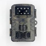 PR700 20MP 1080P 120°検出レンジハンティングトレイルカメラ野生生物監視用の自動IRフィルター付き防水ハンティングスカウトカメラ