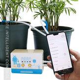Intelligenter Bewässerungs-Timer Automatische solare Wasserbewässerung APP WIFI-Steuerung