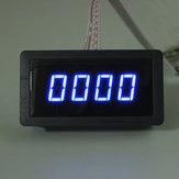 4 Tacômetro Digital LED Medidor de Velocidade RPM + Chave de Proximidade Sensor NPN