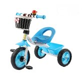 Kid Tricycle Adjustable Pedals Bike Toddler Children Balance Bicycle for 1-3 Years Old