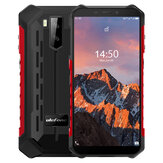 Ulefone Armor X5 Pro 5,5 tommers NFC IP68 IP69K vanntett 4 GB RAM 64GB ROM 5000mAh MT6762 Octa Core 4G Rugged Smartphone