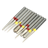 10pcs Diamond Burs Polishing Grinding Heads for High speed Handpieces