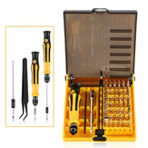 Bakeey™ 45 in 1 Precision Hardware Screwdriver Set Repair Tool Kits for Xiaomi iPhone Notebook Non-original