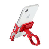 Supporto per telefono al manubrio per moto da bici in lega di alluminio con cinturino Silicone per smartphone da 3,5 pollici-6,2 pollici