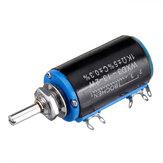 3pcs WXD3-13-2W Potenciômetro de precisão 1KΩ 1K Ohm Potenciômetro de várias voltas com fio