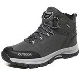 Hommes Outdoor Antidérapant Soft Semelle Chaussures de randonnée à lacets