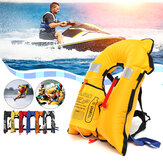 वयस्क स्वचालित Inflatable जीवन जैकेट बौनापन मछली पकड़ने के जीवन बनियान जीवन रक्षा बनियान आउटडोर पानी क