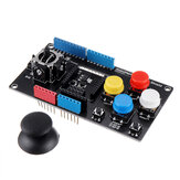Robotdyn® Joystick Shield with Wireless محول Game Stick Module الدعم Uno Mega xBee APC200 NRF24L