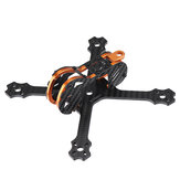 Eachine Tyro79 140mm 3 Inch Versi DIY FPV Racing Bingkai Kit 3mm Lengan Serat Karbon