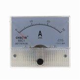 TS-0421 85C1-DC30A DC Current Meter Panel Portabel 0-30A Ammeter Tahan Lama Analog Amperemeter Panel Voltmeter