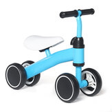 4 Wheel Toddler Kids' Tricycle Baby Kids Push Scooter Walker Bicycle for Balance Training For 18 Mouths to 2/3/4/5 Year Old Boys&Girls