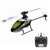 XK K100 Falcom 6CH Flybarless 3D6G-systeem RC Helicopter RTF