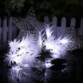 KCASA CSL-6 Jardinería 10M 38LED cadena de luz de algas forma de vacaciones de fiesta de jardín Boda Decoración