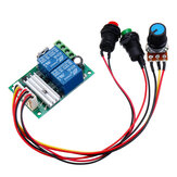 6V 12V 24V PWM DC Motor Speed Controller Module Switch Electric Push Rod Motor Controller Button