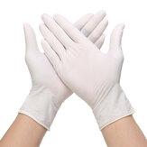100Pcs Disposable Golves Vinyl Examination Work Gloves PVC Latex Free Rubber
