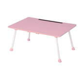 Laptop Desk Table Portable Folding Desk Notebook Table Lap Tray Bed with Slot for Children Student Home