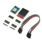 Mini D1 ESP-12F N ESP8266 Development Board + 1.44 inch TFT LCD Screen Module with DuPont Line Geekcreit for Arduino - products that work with official Arduino boards