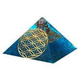 Kristaller Apatit Orgon Taş Piramit Meditasyon Yoga Enerji Jeneratörü Şifa