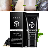 TYJR Blackhead Remover Masque visage Nose Acne Pore Nettoyant profond Purifiant Peel Off Black Mud 50ml