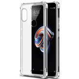 Bakeey Étui de Protection Transparent Antichoc en TPU Doux pour Xiaomi Redmi Note 5/Redmi Note 5 Pro