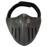 ACTIE UNION MK036 TPU Tactisch masker Outdoor Jacht Fietsen Sportmaskers met hoofdbedekking-camouflage