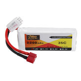 ZOP Power 7.4V 2200mAh 35C 2S Lipo Battery T Plug for Wltoys 124019 144001 10428 10428A / B / C / A2 / 72115528/C2 K949 RC Car