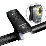XANESBLS01Комплектдлямотоциклетногосвета SFL02 600LM T6 Смарт-индукционный передний свет STL02 Умный задний фонарь USB Rechargeale