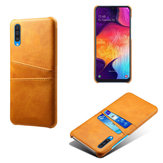 Bakeey PU Leather Card Holder Shockproof Protective Case For Samsung Galaxy A50 2019