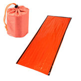 IPRee® 200x90cm PE Aluminum Film Single Sleeping Bag Folding Emergency First Aid Mat With Storage Bag