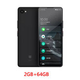 QIN 2 Pro 2GB + 64GB Full Screen Phone Global Version Multi-Language 4G Network com Wifi 5,05 polegadas 2100mAh Andriod 9.0 SC9832E Quatro Core Feature Phone