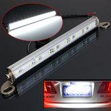 Car van camión de remolque 15 LED número de placa perno de luz en la lámpara de copia de seguridad