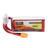 ZOP POWER 11.1V 1500mAh 100C 3S Lipo Bateria com plugue XT60