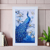 DIY 5D Diamond Painting Blue Peacock Art Craft Embroidery Stitch Kit handgemaakte wanddecoraties cadeaus voor kinderen volwassen