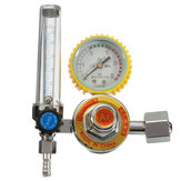 Argon Co2 Gas Mig Tig Flow Meter Welding Weld Regulator Gauge Welder Cga580 Fits