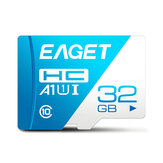 EAGET T1 Mini Class 10 U3 256GB Memory TF SD Card 32GB 64GB 128GB Flash Card Smart Card for Mobile Phone Laptop