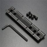 Tactical ensamblam tecelão picatinny adaptador ferroviário 11 milímetros a 20 milímetros âmbito estender montagem