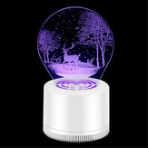 5V 3W USB Electronic Power Mosquito Insect Killer Lamp No Smell Mute Indoor Repellent Trap