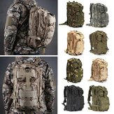IPRee® 30L Outdoor Tactical Backpack 600D Nylon Vodotěsný Camouflage trekking batoh