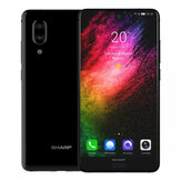 SHARP AQUOS S2 (C10) Global Version 5.5 Pollici FHD + NFC Android 8.0 4 GB RAM 64GB rom Snapdragon 630 Octa Core 2.2GHz 4G Smartphone