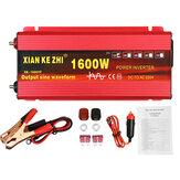 Inversor de energia 220V 1600/2000 / 3000W 12 / 24V Dc para 220V Ac Conversor de tensão de onda senoidal pura