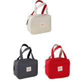 Tote Family Travel Picnic Drink Fruit Food Fresh Thermal Insulated Women Men Bento Lunch Box Bag