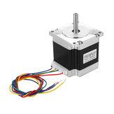 23HS5628 4-lead Nema 23 Stepper Motor 2.8A 6.35mm Shaft Untuk Bagian CNC Printer 3D