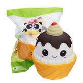 Squishy Ice Cream Cup Squishy 10cm * 12cm Slow Rising Toy Cute Boneca Para criança