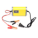 12V 2A Car Motorcycle Smart Automatic Bateria Carregador Amarelo Cor