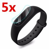 5 x Anti Scratch Clear Screen Protector Film Shield For Xiaomi Miband 2 Tracker