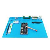 BEST S120 S130 S140 Manyetik Isıya Dayanıklı Silikon Ped Masası Mat Bakım Platformu Isı Yalıtımı BGA Lehimleme Onarım İstasyonu